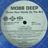"""MOBB DEEP """"THROW YOUR HANDS (IN THE AIR)"""" 2004 VINYL 12"""" PROMO ~RARE~ *SEALED*"""