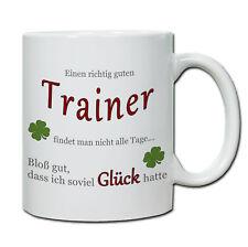 """Tasse """" Einen richtig guten Trainer..."""" Geschenk, Dank, Abschied, Kind,"""