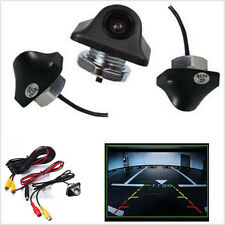 170° Reverse Backup Car Front Rear View Camera Night Vision Parking CCD HD 12V