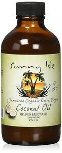 Sunny Isle Jamaican Organic Extra Virgin Coconut Oil, 4 Ounce