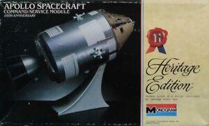 Monogram 1:32 Apollo Spacecraft Command Module 25th Anniversary Kit #6061U