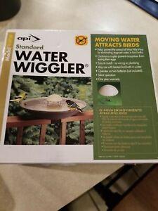 Water Wiggler Model 4ww Allied Precision Bird Bath in Box