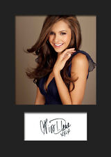 NINA DOBREV #1 A5 Signed Mounted Photo Print - FREE DELIVERY