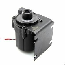 DC 12V Pump For PC Water Cooling G/14 Thread 3 Pin Connector With Black Bracket