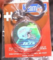 New York Jets Hologram Key Ring Team NFL Authentic Vintage Licensed Gift Idea