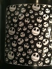 NBX Nightmare Before Christmas Jack Bones fleece blanket  throw NEW