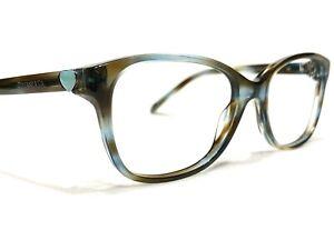 Tiffany & Co. TF2097 8124 Women's Tortoise Cat's Eye Rx Eyeglasses Frames 52/16