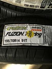 1 New 195 70 14 Fuzion Touring Tire