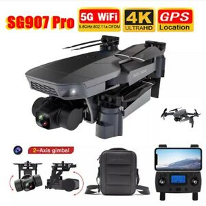 SG907 Pro 5G Wifi Drone 2Axis Gimbal 4K Camera Wifi GPS 4Axis Professional Drone