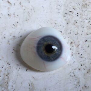 Vintage Antique - Prosthetic Human Glass Eye - World War WWll