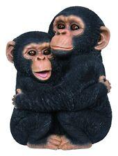 Vivid Arts - Real Life Hugging Chimps Home or Garden Decoration (XRL-CHM9-D)