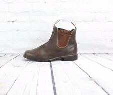 Blundstone Style 500 Leather Ankle Boots Stout Brown Men Size US 8.5