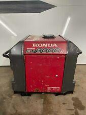 Honda Eu3000is 3000w Inverter Gasoline Portable Generator