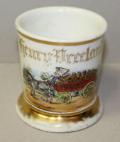Occupational Shaving Mug – Sprattler & Mennel Brewery Advertising – Barber Shop