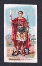 SANT'ESPEDITO 03 SANTINO IMMAGINETTA HOLY CARD IMAGE PIEUSE RELIGIONE
