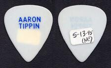 Vintage Aaron Tippin White Guitar Pick - 1995 Tour Burgettstown PA