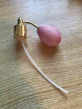 Perfume Bottle atomizer Puffer replacement Pink With Gold Cap & arm