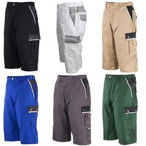 Arbeitshose Arbeitsshorts Shorts kurze Hose Bermuda Berufsbekleidung Größe 44-60