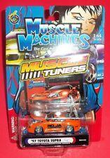 Muscle Machines - New - Orange 1997 Toyota Supra - 1:64 - Die-Cast