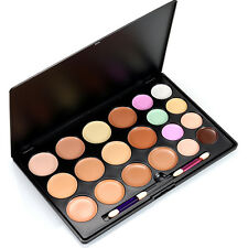 20 Colors Contour Face Cream Concealer Palette Highlighter Kits Brush-Makeup-Set
