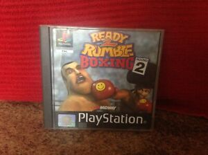 PlayStation 1 Ready 2 Rumble Boxing Round 2, Retro, PAL, Used