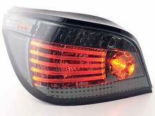 BMW 5 Series Saloon  E60/E61 {2003- } Black  Rear LED Taillights Tail Light Pair