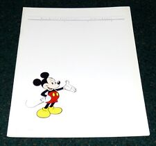 WALT DISNEY PRODUCTIONS ANNUAL REPORT 1984 MICKEY MOUSE