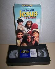 Story of Jesus for Children VHS, 2000, Tapeworm Studios 62 Mins