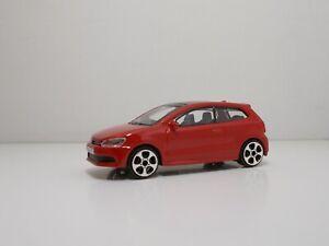 "Bburago 30010 Volkswagen POLO GTI ""Red"" - METAL Scala 1:43"