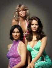 Charlie's Angels Cast Farah, Jaclyn & Kate 8.5x11 Platinum Gloss Photo