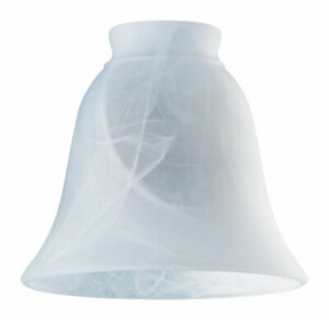 Westinghouse 8127200 Milky Scavo Glass Bell Lamp Shade 2-1/4 in. (Pack of 6)