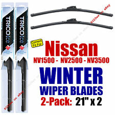 WINTER Wipers 2-Pack Premium Grade - fit 2012+ Nissan NV1500 - 35210x2