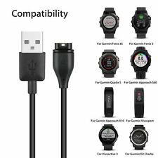 Garmin Fenix 5 5S 5X 6 6s 6X Vivoactive 3 Instinct Charger Charging Cable Cord