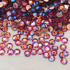 Swarovski Crystal Hotfix 100 x SS20 Tangerine Shimmer orange diamante rhinestone