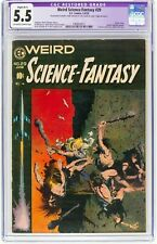 Weird Science Fantasy 29 Wally Wood Art CGC 5.5 Frank Frazetta Cover, pedigree