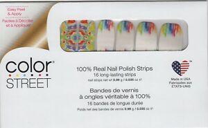 CS Nail Strips Make A Splash RETIRED 100% Nail Polish - USA Made!