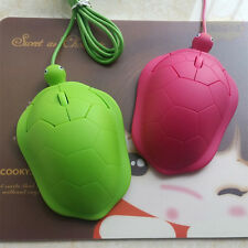 Cute Turtle 3D USB Wired Optical Mouse Mice 800dpi For Laptop Macbook 4 Color