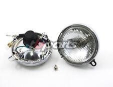 HONDA Z50 K1 & K2 headlight assembly with chrome trim ring