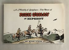 Stan Lynde A Month of Sundays The Best of Rick O'Shay & Hipshot SIGNED FIRST ED.