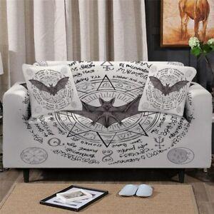 Vampire Bat Animal Sofa Couch Chair Cushion Stretch Cover Slipcover Set Decor