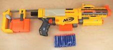 NERF N-Strike Recon CS-6 Blaster Barrel Stock Light/Red Dot Extra Mag PLUS Darts