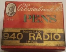 144 Esterbrook Pen Nibs - Sealed Box of 940 Radio
