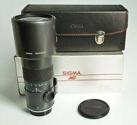SIGMA TELEPHOTO 400 / 5,6  MC  per CONTAX / YASHICA