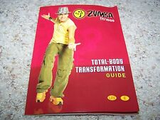 ZUMBA Fitness TOTAL BODY TRANSFORMATION GUIDE ONLY Workout Beto NEW
