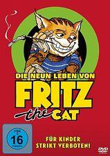 ANIMATED - DIE NEUN LEBEN VON FRITZ THE CAT  DVD NEU