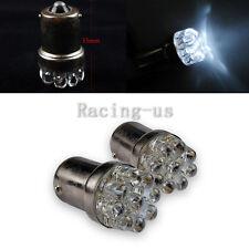 2pcs  White LED car light 12V BA15S/1156 G18 LED Bulb