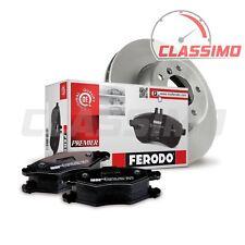 Ferodo Front Brake Discs & Pads for AUDI A3 8P + TT 8J - 2.0TFSi & 2.0TDi 170