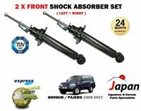FOR MITSUBISHI SHOGUN PAJERO 3.5 3.2 DID 2000-2007 2x FRONT SHOCK ABSORBERS SET