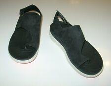 FITFLOP Black Suede Women's Flip Flop Sandal size US 7