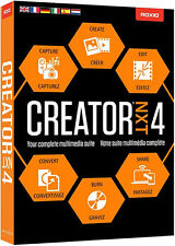Roxio Creator NXT 4 by Corel - New Retail Box RCRNXT4MLMBAM